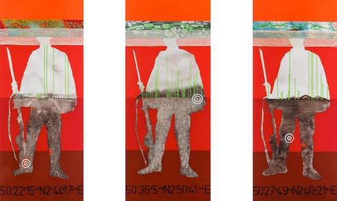 Trois hommes paysages vus par Virginie Gallois
