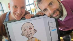 Ludovic Dujardin et Benjamin Blasco, les créateurs de Petit Bambou Crédit photo : Voix du Nord